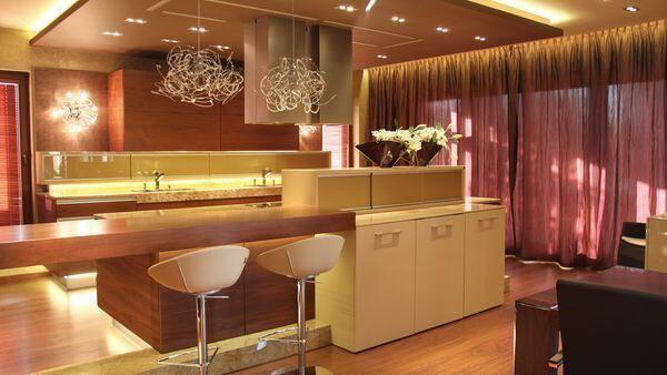 Luxusní interiér moderního domu