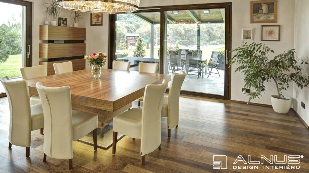 design interiéru jídelny