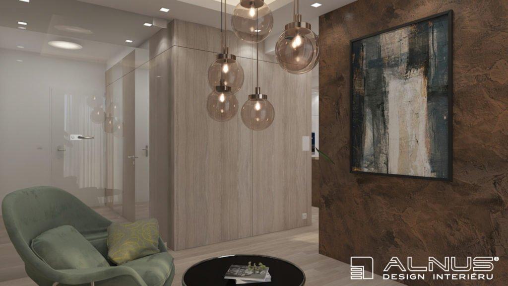 relaxační křesílka v moderním bytě