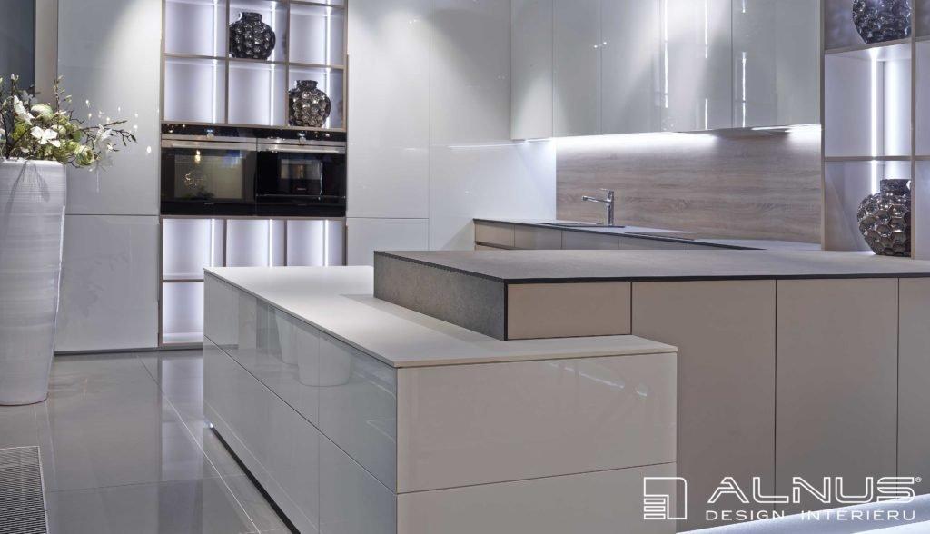 minimalistický design interiéru moderní kuchyně