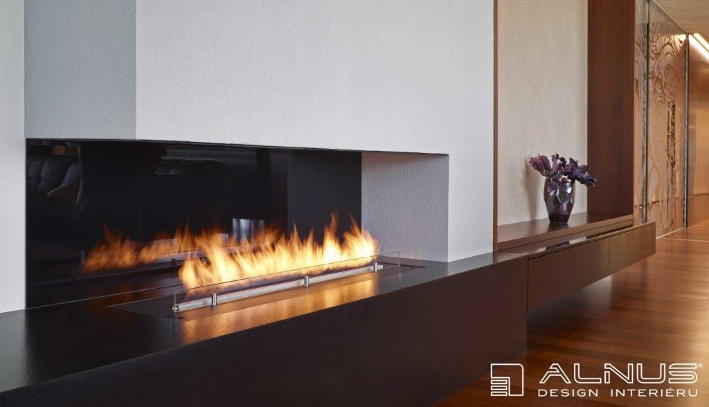 design biokrbu v moderním interiéru bytu