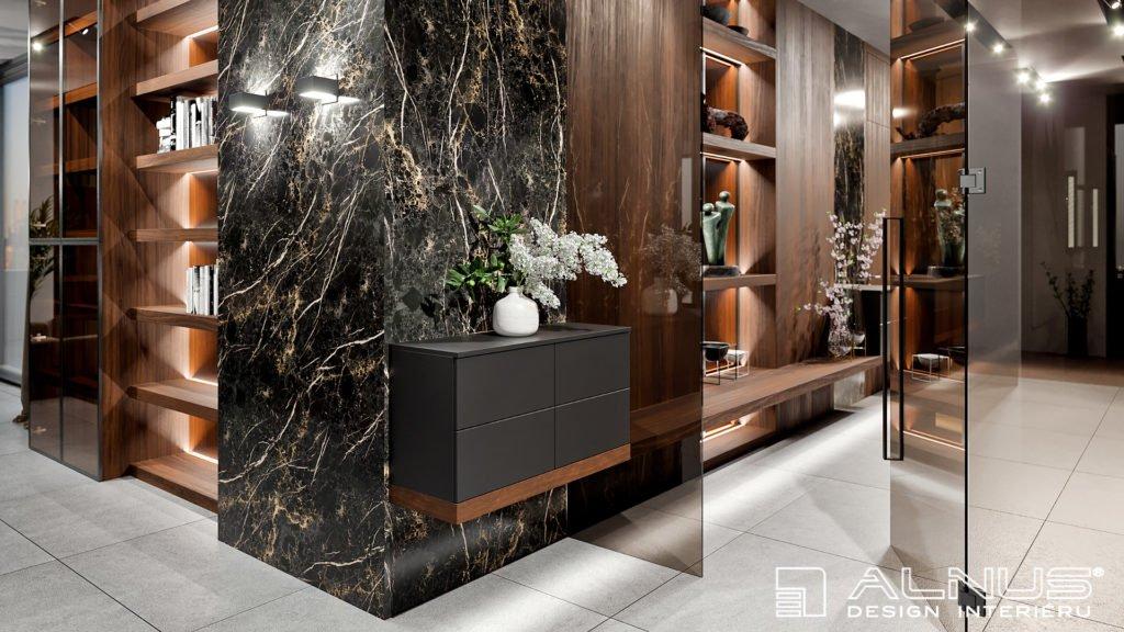 moderní design interiéru bytu 4+kk