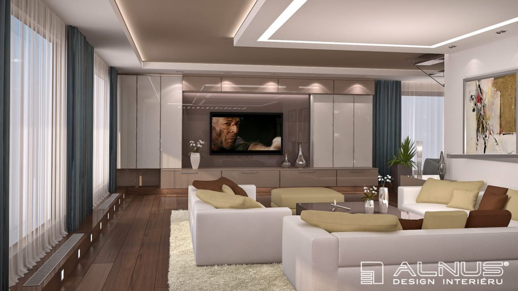 barvy v interiéru moderního bytu