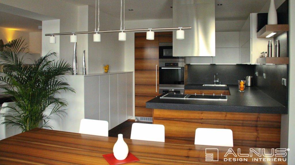 žulová pracovní deska kuchyně do tvaru u