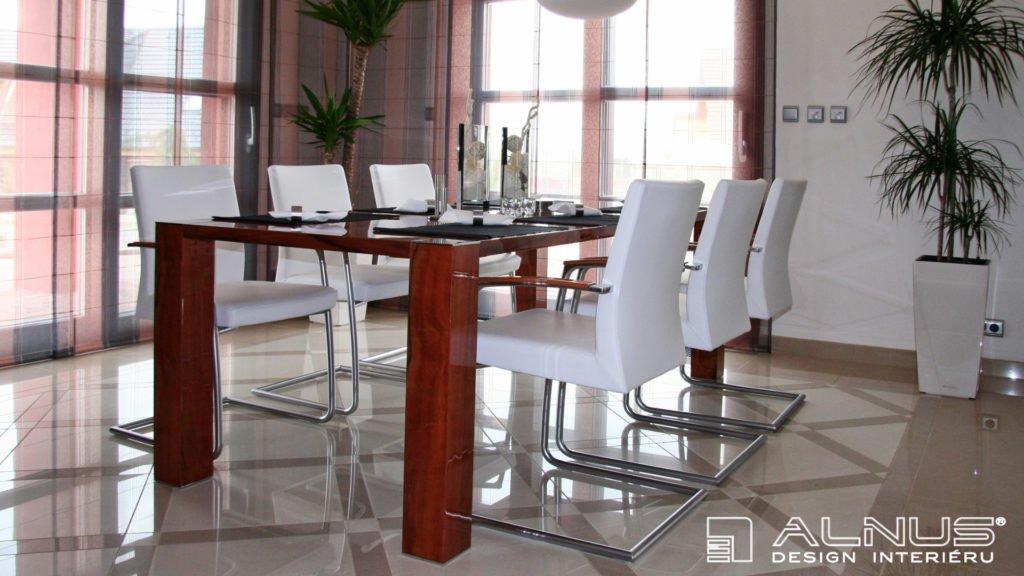 design jídelního stolu