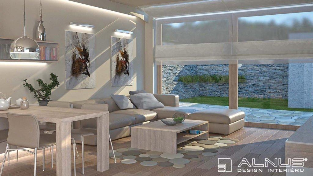 design interiéru bytu 2+kk