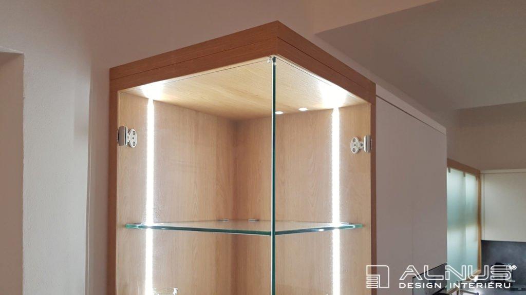 vnitřní osvětlení skleníku moderní kuchyně