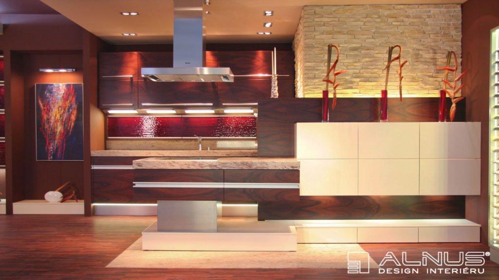 design moderní kuchyně s ostrůvkem