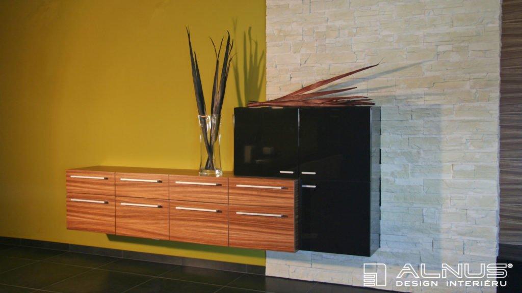 design komody v moderním obývacím pokoji