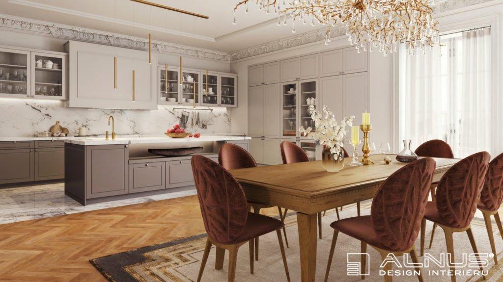 kuchyně ve stylu první republiky